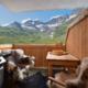 Il mio rifugio in montagna.